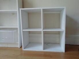 open shelving unit kallax style