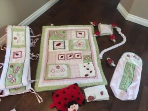 Baby girls bedroom Set.