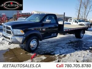 2012 Dodge Ram 5500 SLT 14 FT Flat Deck