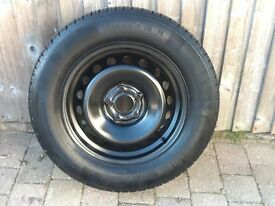 Nissan Qashqai Full Size steel Rim and Tyre Brand New