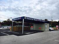 Hand Car Wash Valeting Business For Sale - Asda Car Park Location - Franchise Opportunity