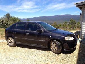 2002 Holden Astra Hatchback Maribyrnong Maribyrnong Area Preview