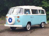 1973 VW CAMPERVAN T2 DEVON BAY – MUCH LOVED CAMPER FOR SALE