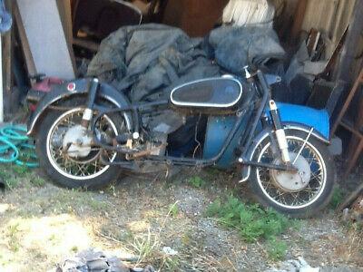 1960-1969 R50/2 BMW Motorcycle OEM Parts Project Frame Earles Rim 64 65 66 67 68