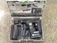Festool cordless hammer drill 18v