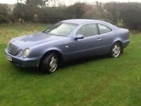 PART EX TO CLEAR - CHEAP MERCEDES CLK 230 ELEGANCE KOMPRESSOR AUTO COUPE - LOOKS/DRIVES FINE