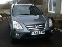 REDUCED TO £2550 FROM £2850 HONDA CRV IVTEC SE SPORT 4 WHEEL DRIVE AUTO 5 DOOR ESTATE £2650 ONO