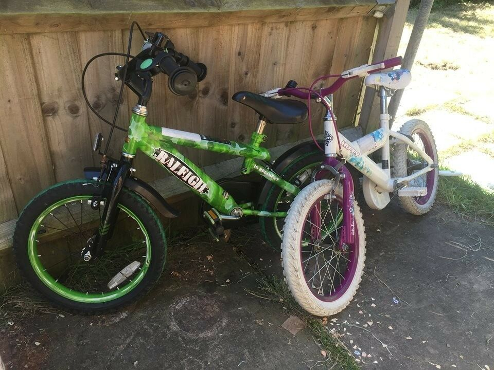 3a64baa74a6 5 year old girl and 6 years old boy bikes