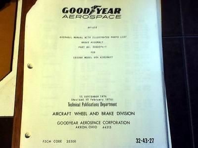 Goodyear Brakes 5002374-1 on Cessna 404 Overhaul Parts Manual