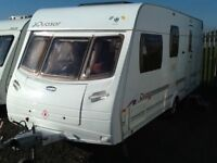 2006 luner QUASER 524/4 berth end changing room with fitted mover