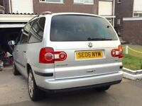 VW Sharan 1.9tdi, 7 seater, well maintained, new clutch,water pump,cambelt kit.MOT may 2017