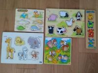 Baby/Toddler Toys & Wooden Puzzles £2 each or £10 for everything. Good condition!