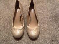 Sparkly next heels. Size 5.5