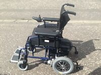Electric wheelchair Betterlife Aries hardly used .£400 Ono