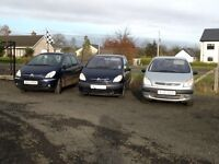2007 Citroen Picasso lx hdi 1.6 (choice of 3)