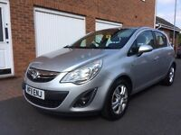 2011 11 Vauxhall Corsa Exclusiv *NEW SHAPE* 5dr 1.4 Petrol 85,000 Miles HPI Clear sxi not polo cdti