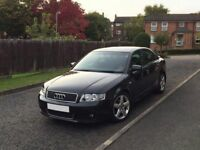 Audi A4 1.9tdi s line 6 speed manual black low miles