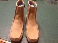 CLARKS NEW LADIES SUEDE BOOTS SIZE 6