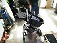 Mothercare Swing (2-way) pram and carrier