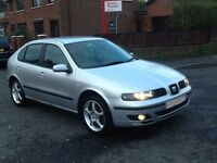 SEAT LEON SE TDI .EXTREMELY RELIABLE LOKING TO SWAP FOR A SMAL WORKING VAN