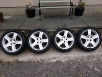 17 inch Peugeot Vortex alloy wheels