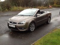 FOCUS CONVERTIBLE 2007 FORD FOCUS CC-2 CONVERTIBLE 2DR 64000 MILES,SERVICE HISTORY,EXCELLENT CAR.