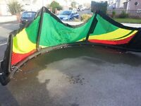 Kites and kite surf gear hardly used