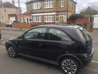 55 plate vauxhall corsa 1.4 design16v AUTOMATIC GEAR BOX, 1 year mot, only 58k, full service history