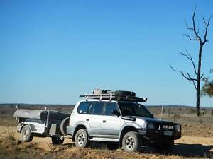 1996 Toyota LandCruiser Prado Wagon for Touring and Towing Redbank Plains Ipswich City Preview