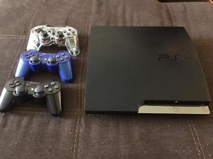 PS3, 3 controllers