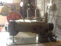 Consew 301 zig zag industrial sewing machine.