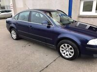 Volkswagon Passat 2.0 2004 (54). MOT October 17, Alloy Wheels, Electric Windows, CD Player. Value.