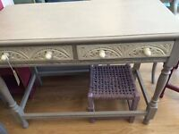 Pretty Painted Console Table