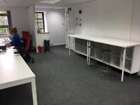 Flexible, Professional and Affordable office, co working space and meeting rooms with Free Parking