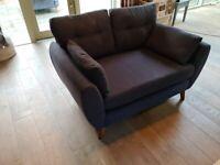 Dark blue 2 seater sofa ( NEXT)