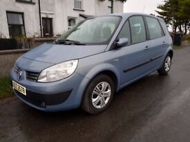 2006 Renault Scenic - Full Service History and Long MOT