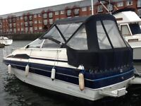 Cabin cruiser boat project