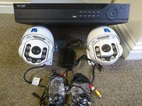 *CCTV SYSTEM* - iApollo DVR 1TB H/D - 2 x PTZ Multi Function Cameras (650TVL) (80M Night Vision)