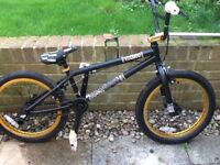 BMX immaculate condition hardly ridden, looks and rides like a brand new bike.