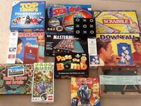 Board games, various games for all ages, complete and boxed. Good condition.