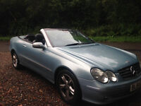c.o.n.v.e.r.t.i.b.l.e.mercedes,c.l.k. 1 yr m.o.t. 78.000 miles' drive's like new , no issue's