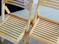 IKEA Two folding chairs
