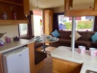 6 Berth static caravan for sale in Norfolk, near Great Yarmouth. 2018 site fees included.