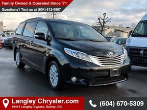2017 Toyota Sienna XLE 7 Passenger *BLUETOOTH* * BACKUP CAMER...