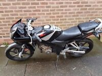 honda cbr 125 spares or repairs project 2005