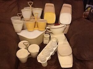 Vintage Tupperware -$10 per piece or set Rothwell Redcliffe Area Preview