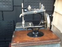 Model sewing machine