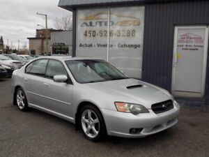 SUBARU LEGACY LIMITED 2,5GT 2005***CUIR,TOIT OUVRANT,GROUPE ELEC