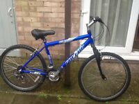 Nice bike £40 just been serviced can deliver for petrol 26 wheel 18 frame 21 gears