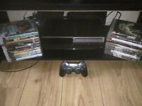 80gb playstation 3 with games for sale